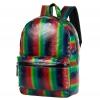 Рюкзак городской NOSIMOE 1304-10K радуга (зелен-бордо), купить за 1 380руб.