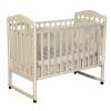 Детскую кроватку Антел Алита 2, колесо, качалка (место 120х60 см, без матраса) слоновая кость, купить за 3785руб.