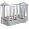 Детская кроватка Антел Каролина 4/6, универс. маятник (место 120x60 см, без матраса, ящик), белая, купить за 7 150руб.