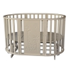 Детскую кроватку Антел Северянка 3 - Жираф  6 в 1 маятник поперечного качания/колесо (сл. кость), купить за 7695руб.