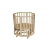 Детская кроватка Антел Северянка (3) 6 в 1 универсальный маятник/колесо (слоновая кость), купить за 7 500руб.
