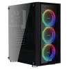 Корпус компьютерный Aerocool Quartz REVO черный, купить за 4680руб.