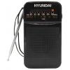 Радиоприемник HYUNDAI H-PSR110 черный, купить за 520руб.