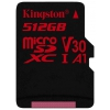 Карту памяти microSDXC Kingston SDCR/512Gb Canvas React (с адаптером), купить за 9420руб.