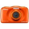 Цифровой фотоаппарат Nikon CoolPix W150, оранжевый, купить за 10 375руб.