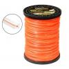 Леска для газонокосилок Rezer ULTRA-PRO Dual-Cut (2 мм x 540 м, квадрат, 03.007.00010), оранжевая, купить за 1 725руб.