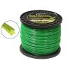 Леска для газонокосилок Rezer Professional (2.4 мм x 270 м, звезда, 03.007.00145), зелёная, купить за 955руб.