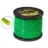 Леска для газонокосилок Rezer Professional (2 мм x 454 м, звезда, 03.007.00076), зелёный, купить за 950руб.