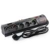 Сетевой фильтр CrownMicro CMPS-10 тёмно-серебристый, купить за 1 735руб.