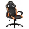 Кресло офисное Aerocool AC60C AIR-BO, черно-оранжевое, купить за 7 365руб.