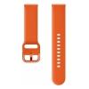 Ремешок для умных часов Samsung Galaxy Watch Active ET-SFR50MOEGRU, оранжевый, купить за 2010руб.