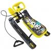 Снегокат Nika Тимка спорт 2  граффити на желтом, черный каркас, купить за 1800руб.