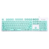 Клавиатура Oklick 400MR White-Mint (USB), купить за 585руб.