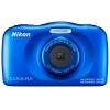 Цифровой фотоаппарат Nikon CoolPix W150, синий, купить за 10 095руб.