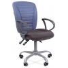 Кресло офисное Chairman 9801 Эрго Россия сид.10-128 серый/сп.10-141 голубой, купить за 6 215руб.