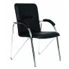 Кресло офисное Chairman 850 экокожа Terra 118 черная, купить за 3 225руб.