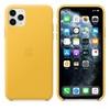 Чехол для смартфона Apple Leather Case для iPhone 11 Pro Max, жёлтый, купить за 6120руб.