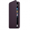 Чехол для смартфона Apple Leather Folio для iPhone 11 Pro Max, баклажан, купить за 9170руб.