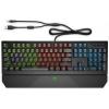 Клавиатура HP Pavilion Gaming 800, черная, купить за 4 745руб.