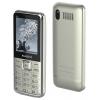 Сотовый телефон MAXVI P16, серебристый, купить за 1 700руб.