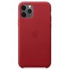 Чехол для смартфона Apple Leather Case для iPhone 11 Pro -  красный (MWYF2ZM/A), купить за 6010руб.