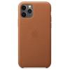 Чехол для смартфона Apple Leather Case для iPhone 11 Pro - Золотисто-коричневый (MWYD2ZM/A), купить за 6160руб.
