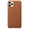 Чехол для смартфона Apple Leather Case для iPhone 11 Pro Max - Золотисто-коричневый (MX0D2ZM/A), купить за 4745руб.