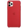 Чехол для смартфона Apple Silicone Case для iPhone 11 Pro Max -  красный (MWYV2ZM/A), купить за 3370руб.