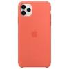 Чехол для смартфона Apple Silicone Case для iPhone 11 Pro Max - Спелый клементин (MX022ZM/A), купить за 3840руб.