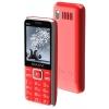 Сотовый телефон Maxvi P16 (2 SIM), красный, купить за 1 685руб.