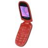 Сотовый телефон Maxvi  E1, красный, купить за 1 390руб.