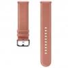 Ремешок для умных часов Samsung Galaxy Watch Leather Band ET-SLR82MPEGRU для Samsung Galaxy Watch Active/Active2 розовый, купить за 3440руб.