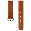 Ремешок для умных часов Samsung Galaxy Watch Leather Band ET-SLR82MAEGRU для Samsung Galaxy Watch Active/Active2 коричневый, купить за 3440руб.