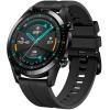 Умные часы Huawei Watch GT 2 Fluoroelastomer Strap, черные/черные с матовым 55024335, купить за 11 288руб.