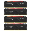 Kingston HyperX FURY RGB HX434C16FB3AK4/64 3466Mhz 4x16Gb, купить за 28 670 руб.