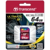 Карта памяти Флеш карта SDXC 64Gb class 10 Transcend UHS1, купить за 2 231руб.