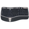 Microsoft Natural Ergonomic Keyboard 4000 Black USB, купить за 2 880 руб.