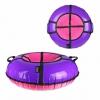 Тюбинг X-Match ПВХ, D-90 см, фиолетовый-розовый, купить за 1365руб.