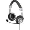 Наушники Hama Style черный/серый 2м мониторы оголовье (00139914), купить за 1285руб.