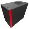 Корпус компьютерный NZXT CA-H210B-BR H210 черный/красный, купить за 6630руб.