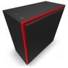 Корпус компьютерный NZXT CA-H710I-BR H710i черный/красный, купить за 11 060руб.