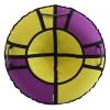 Тюбинг Hubster Хайп 100 см, фиолетовый-желтый, купить за 1690руб.