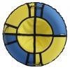 Тюбинг Hubster Хайп 100 см, голубой-желтый, купить за 1 115руб.