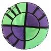 Тюбинг Hubster Хайп 120 см, фиолетовый-салатовый, купить за 2105руб.