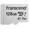 Карту памяти Transcend Class 10 UHS-I U3 A1 V30 128Gb (TS128GUSD300S) без адаптера, купить за 1165руб.