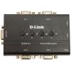 Kvm-переключатель D-Link DKVM-4U (DKVM-4U/C1) (на 4 ПК, VGA+USB), купить за 2795руб.