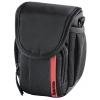 Сумку для фотоаппарата Hama Nashville 90, черная с красным, купить за 1095руб.