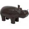 Пуф Leset Бегемот, темно-коричневый, купить за 4 995руб.