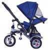 Трехколесный велосипед Farfello TSTX010 синий, ручка для родителей, купить за 8 155руб.