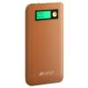 Аксессуар для телефона Hiper XPX6500, аккумуляор, 6500 мАч, 2.4 А, USB, коричневый, купить за 1 235руб.